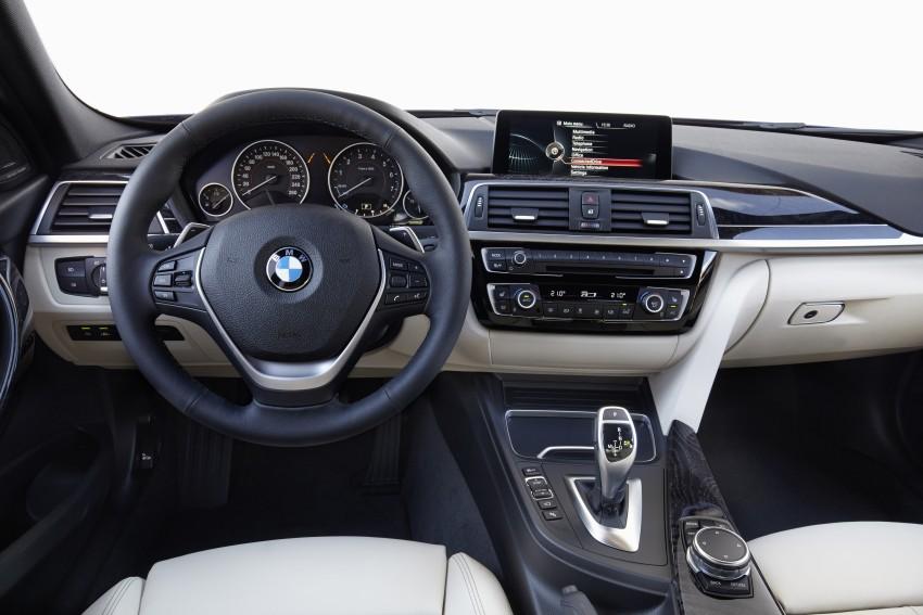 GALLERY: BMW F30 LCI 340i in Mediterranean Blue Image #360087