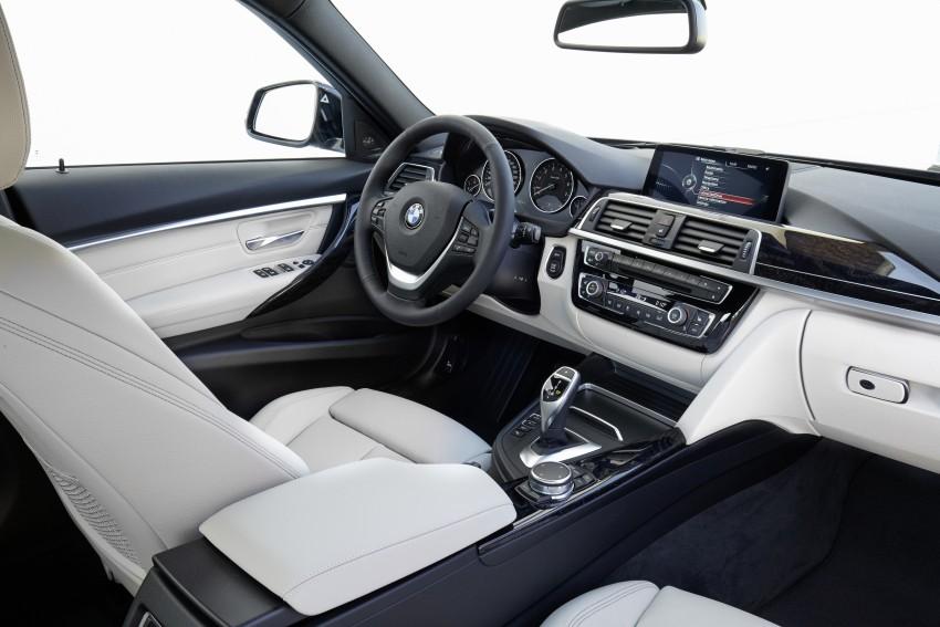 GALLERY: BMW F30 LCI 340i in Mediterranean Blue Image #360090