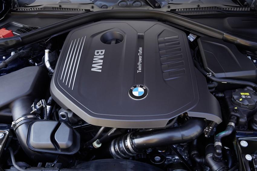GALLERY: BMW F30 LCI 340i in Mediterranean Blue Image #360093