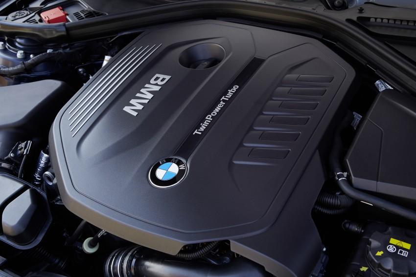 GALLERY: BMW F30 LCI 340i in Mediterranean Blue Image #360092
