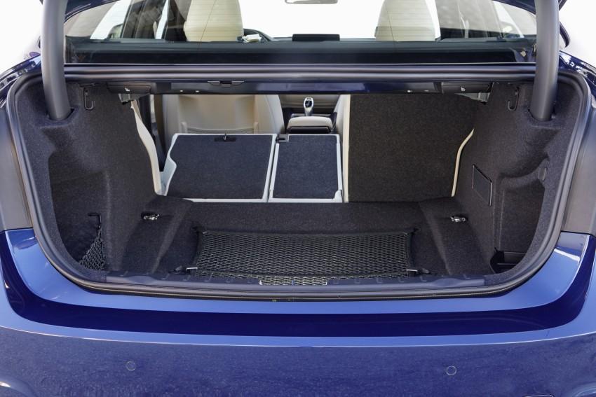 GALLERY: BMW F30 LCI 340i in Mediterranean Blue Image #360077