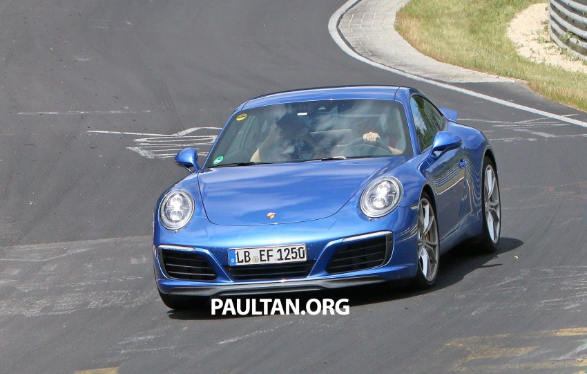 SPIED: 2016 Porsche 911 facelift – all turbo line-up? Image #360140