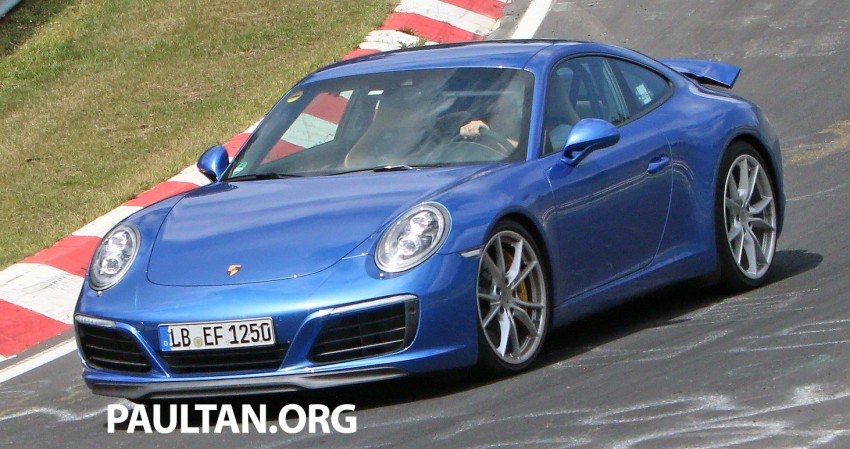 SPIED: 2016 Porsche 911 facelift – all turbo line-up? Image #360141