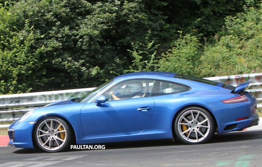 SPIED: 2016 Porsche 911 facelift – all turbo line-up? Image #360145