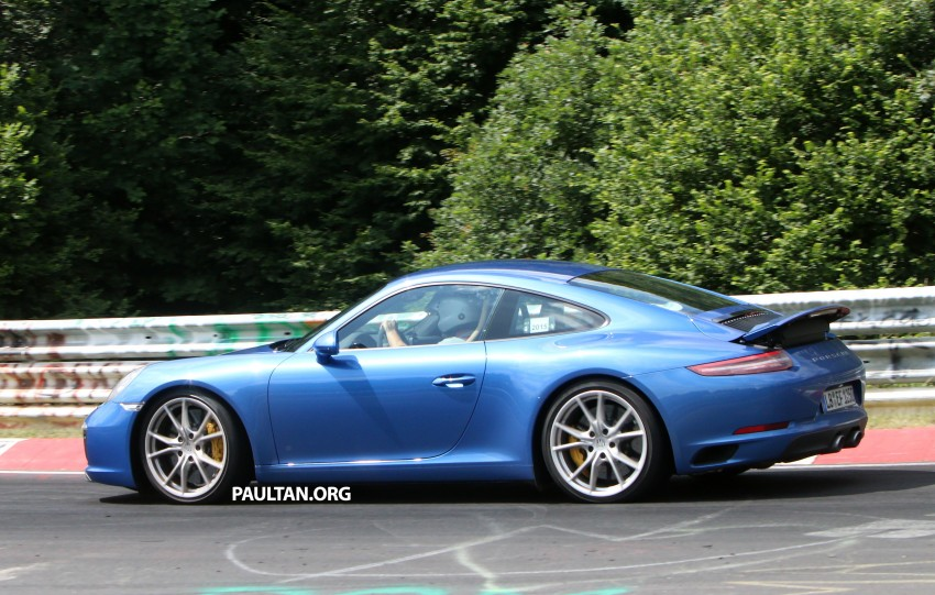 SPIED: 2016 Porsche 911 facelift – all turbo line-up? Image #360146