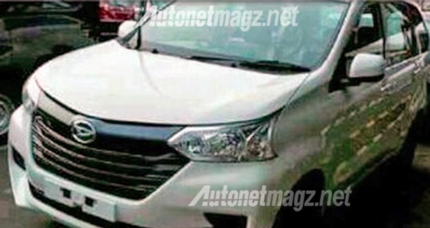2016 Daihatsu Xenia – rebadged Avanza updated too Image #361881