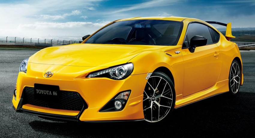 Toyota 86 Yellow Limited debuts – Japan-only special Image #358989