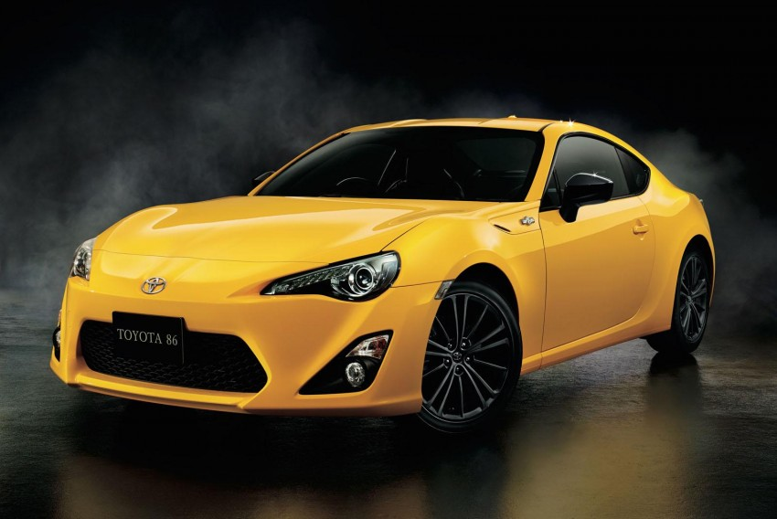 Toyota 86 Yellow Limited debuts – Japan-only special Image #358982