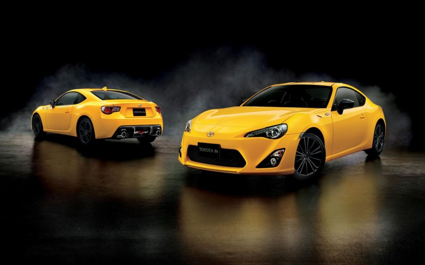 Toyota 86 Yellow Limited debuts – Japan-only special Image #358983