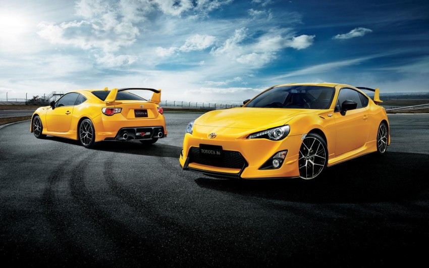Toyota 86 Yellow Limited debuts – Japan-only special Image #358988