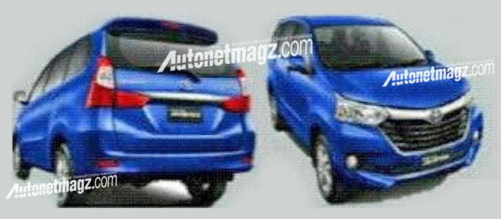 Toyota Avanza facelift: new interior, exterior pix leaked Image #360976