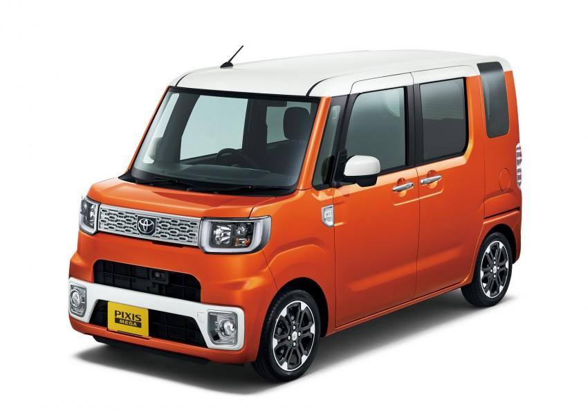 Toyota Pixis Mega – <em>kei</em> car with class-leading height Image #356354