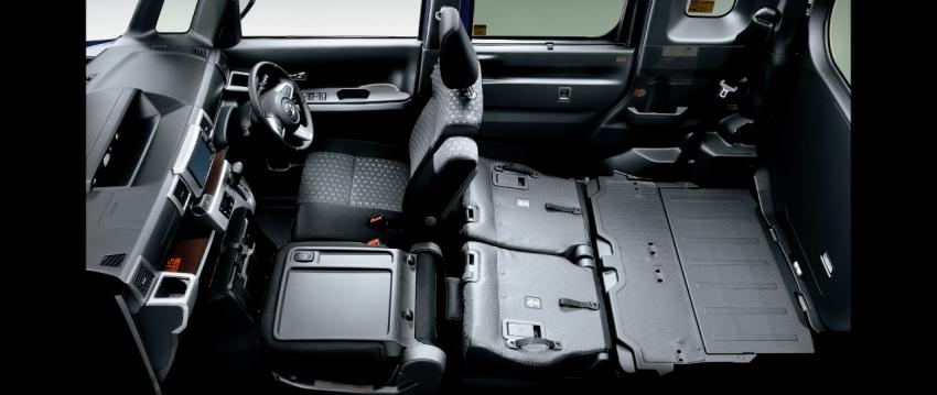 Toyota Pixis Mega – <em>kei</em> car with class-leading height Image #356375
