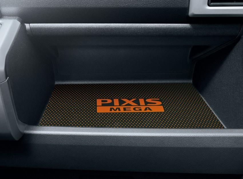 Toyota Pixis Mega – <em>kei</em> car with class-leading height Image #356378
