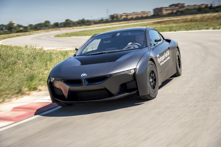 BMW i8-based hydrogen fuel-cell prototype revealed Image #356154