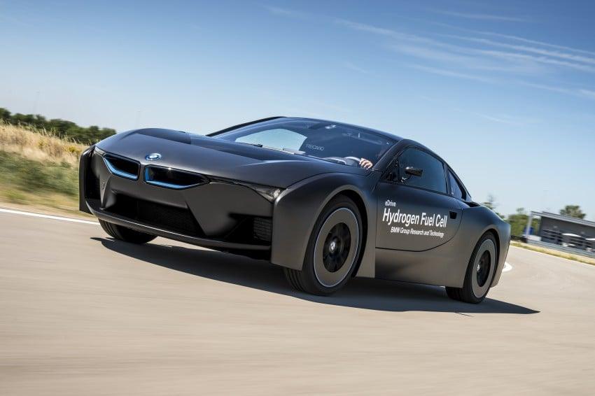 BMW i8-based hydrogen fuel-cell prototype revealed Image #356155