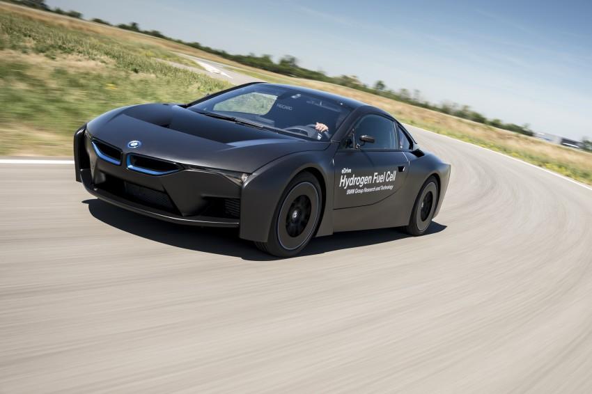 BMW i8-based hydrogen fuel-cell prototype revealed Image #356159