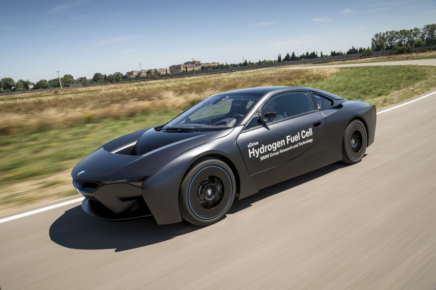 BMW i8-based hydrogen fuel-cell prototype revealed Image #356160