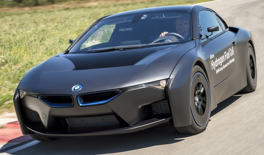 BMW i8-based hydrogen fuel-cell prototype revealed Image #356161