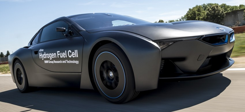 BMW i8-based hydrogen fuel-cell prototype revealed Image #356162