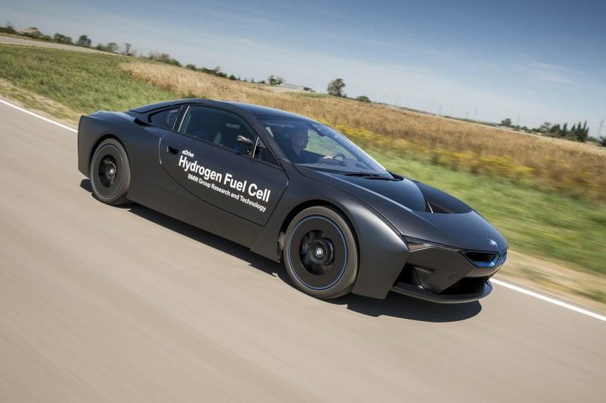 BMW i8-based hydrogen fuel-cell prototype revealed Image #356163