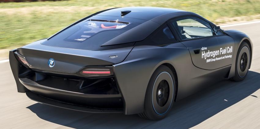 BMW i8-based hydrogen fuel-cell prototype revealed Image #356164