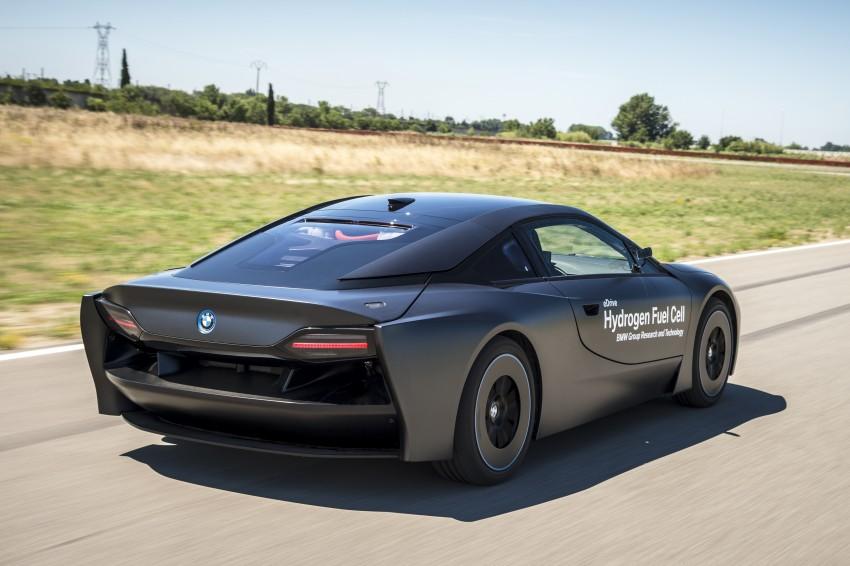 BMW i8-based hydrogen fuel-cell prototype revealed Image #356165