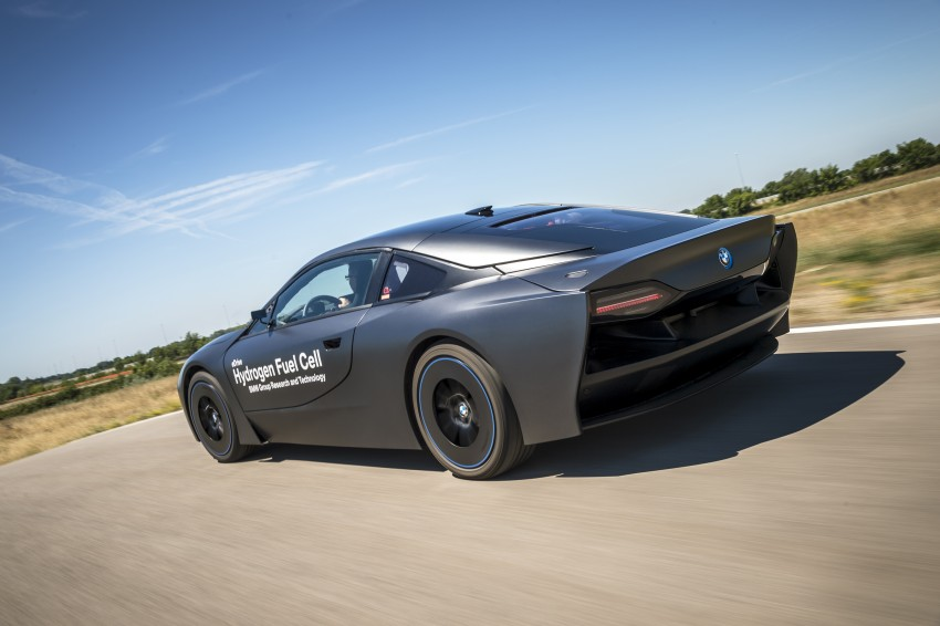 BMW i8-based hydrogen fuel-cell prototype revealed Image #356169