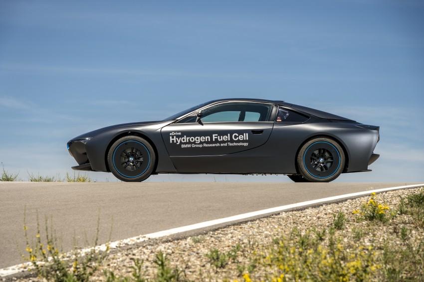 BMW i8-based hydrogen fuel-cell prototype revealed Image #356175