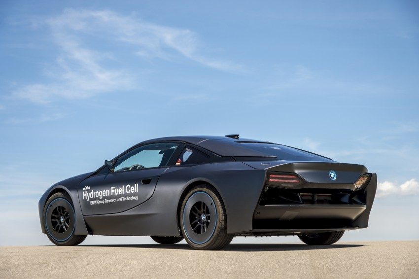 BMW i8-based hydrogen fuel-cell prototype revealed Image #356178