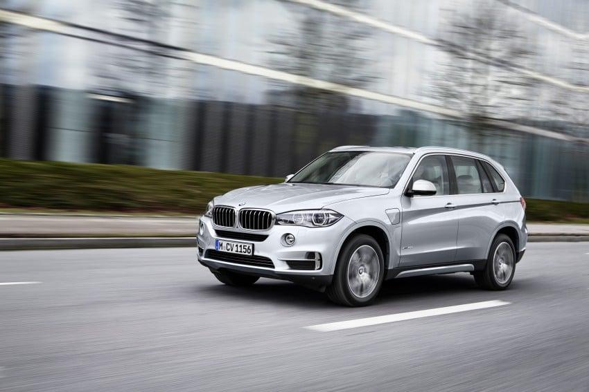 DRIVEN: BMW X5 xDrive40e plug-in hybrid in Munich Image #440446