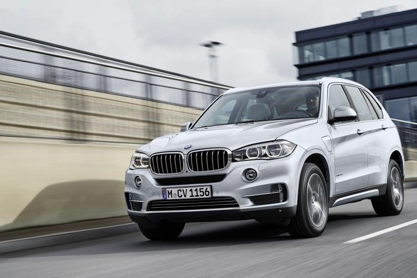 DRIVEN: BMW X5 xDrive40e plug-in hybrid in Munich Image #440447