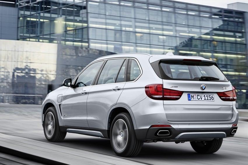 DRIVEN: BMW X5 xDrive40e plug-in hybrid in Munich Image #440450