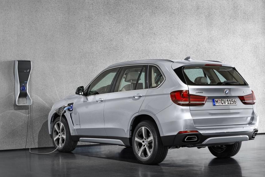 DRIVEN: BMW X5 xDrive40e plug-in hybrid in Munich Image #440453