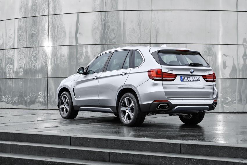 DRIVEN: BMW X5 xDrive40e plug-in hybrid in Munich Image #440457