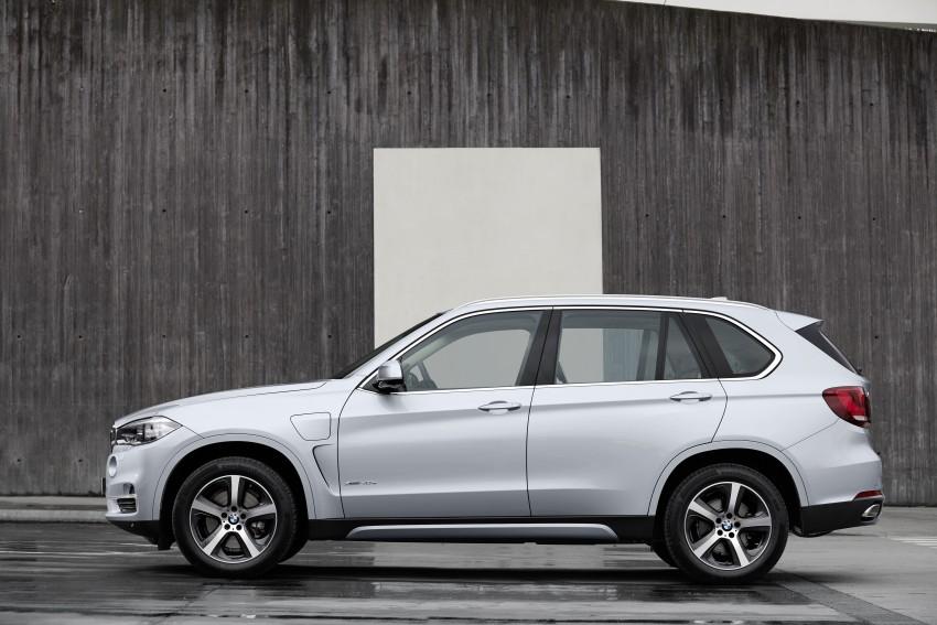 DRIVEN: BMW X5 xDrive40e plug-in hybrid in Munich Image #440463