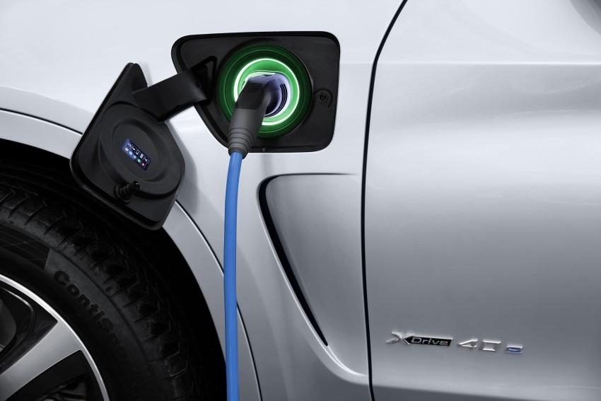 DRIVEN: BMW X5 xDrive40e plug-in hybrid in Munich Image #440468