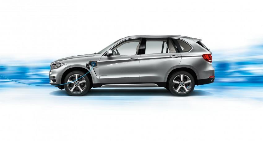 DRIVEN: BMW X5 xDrive40e plug-in hybrid in Munich Image #440437