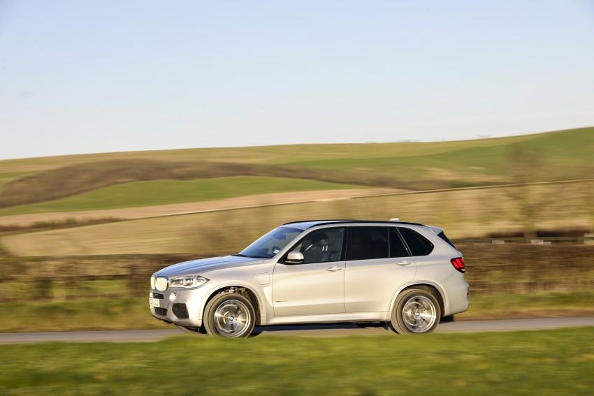 DRIVEN: BMW X5 xDrive40e plug-in hybrid in Munich Image #440523