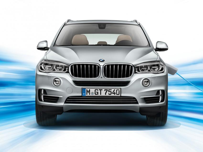 DRIVEN: BMW X5 xDrive40e plug-in hybrid in Munich Image #440438