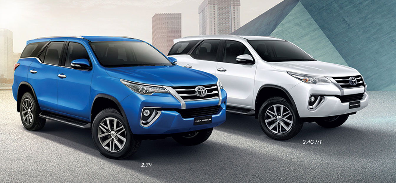 2016 Toyota Fortuner Debuts In Thailand From Rm133k Paul