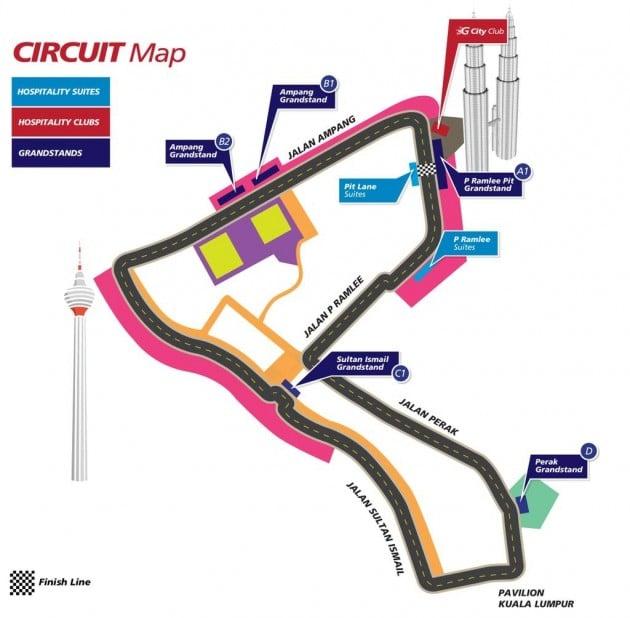 kl city gp map