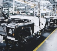 land rover defender assembly