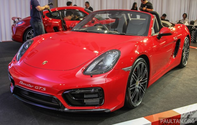 Porsche Boxster Gts Cayman Gts Launched In Malaysia