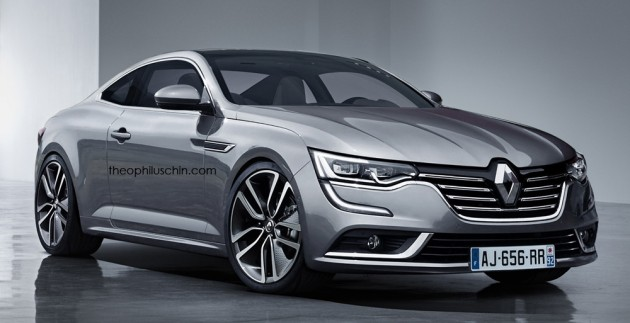renault talisman coupe render 01