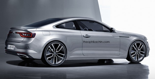 renault talisman coupe render 02