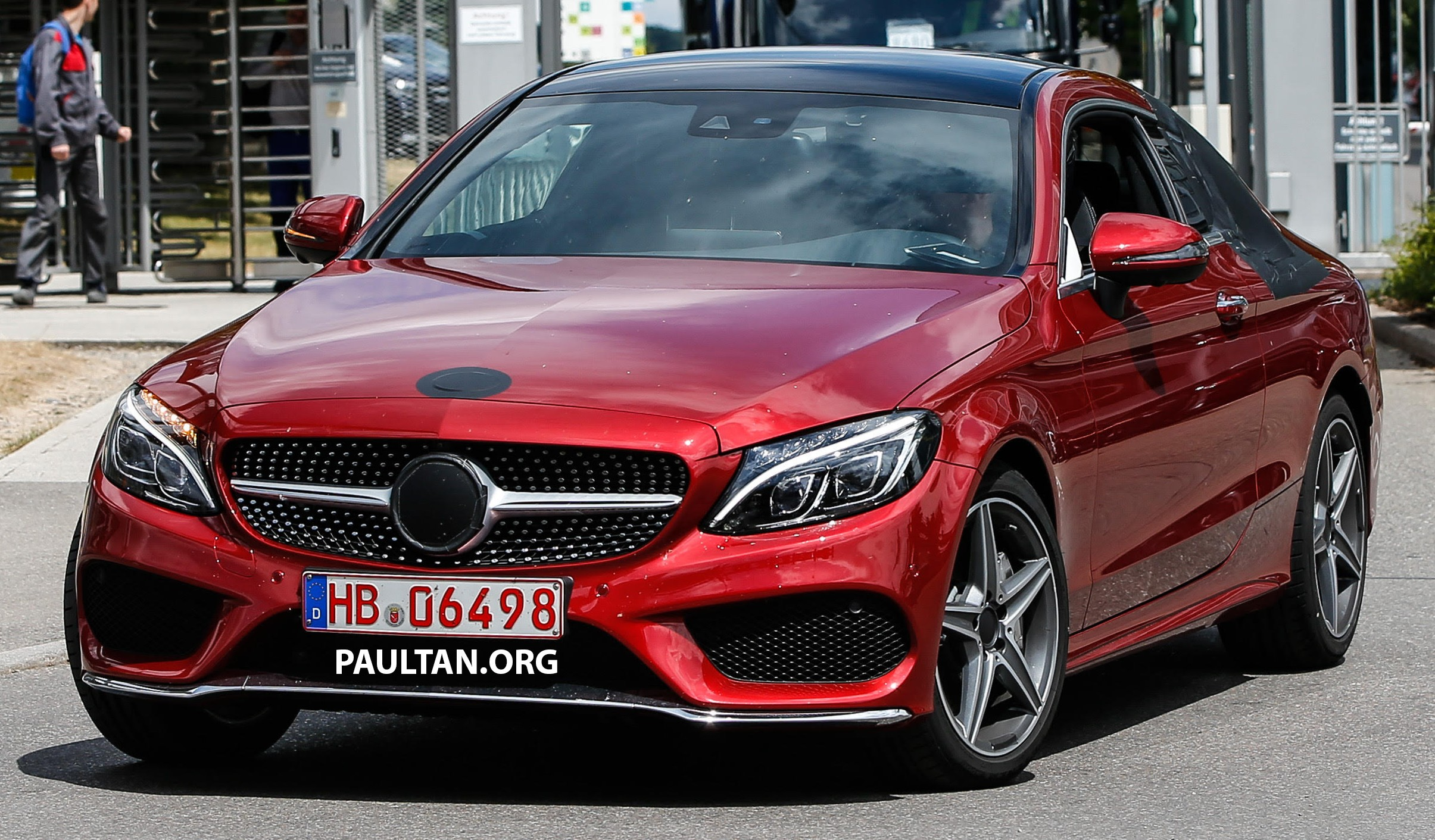 2016 mercedes c63 amg coupe spied for the first time for 2015 mercedes benz c class coupe