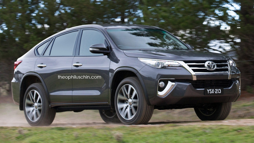 Toyota Fortuner Sported Up Coupe You Imagine This Paul