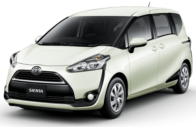 2016 Toyota Sienta MPV Unveiled For Japanese Market