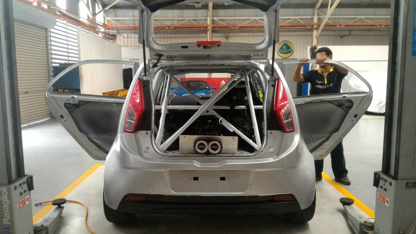 Proton Iriz R3 touring car nearly ready for shakedown Image #365804